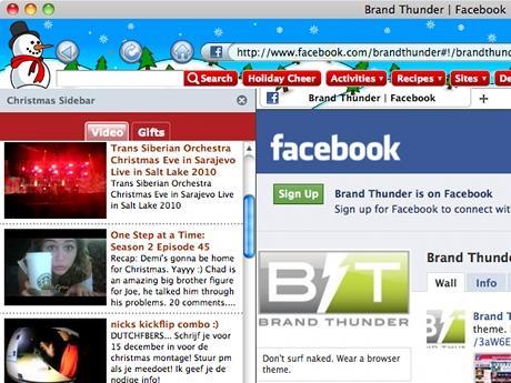 Download Christmas Theme for Internet Explorer
