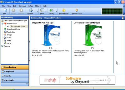 Download Chrysanth Download Manager