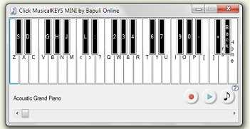 Click MusicalKEYS MINI