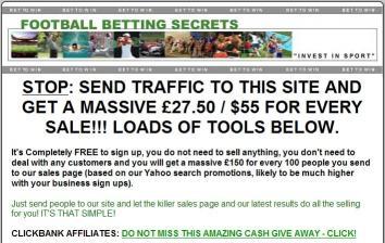 Download Clickbank Betting Affiliate Program