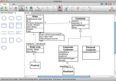 ClickCharts Flowchart Software for Mac