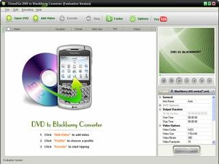 Download Clone2Go DVD to BlackBerry Converter