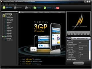 Download Clone2Go Video to 3GP Converter