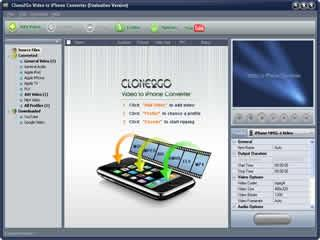 Download Clone2Go Video to iPhone Converter