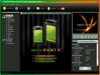 Download Clone2Go Video to Pocket PC Converter
