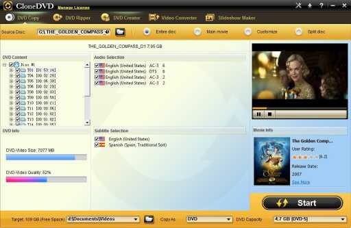 CloneDVD DVD Copy
