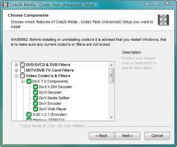 Download Codec Pack - Advanced