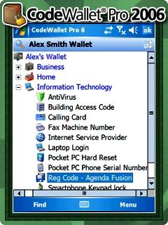 Download CodeWallet Pro for Windows Mobile