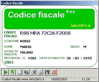 Download Codice Fiscale