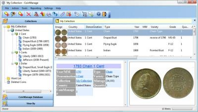 Download CoinManage USA Coin Collecting Software