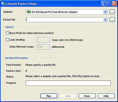 Download Colasoft Packet Player