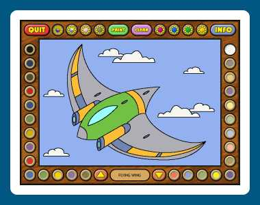 Download Coloring Book 12: Airplanes
