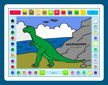 Download Coloring Book 2: Dinosaurs