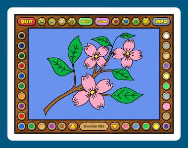 Download Coloring Book 4: Plants