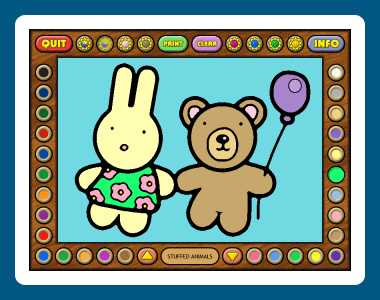 Download Coloring Book 7: Toys