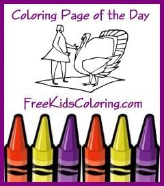 Download Coloring Page of the Day
