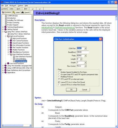 Download COMM-DRV/Lib Standard Edition