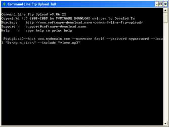 Download Command Line Ftp Upload