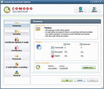 Comodo SecureEmail