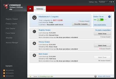 Download Comodo System Utilities