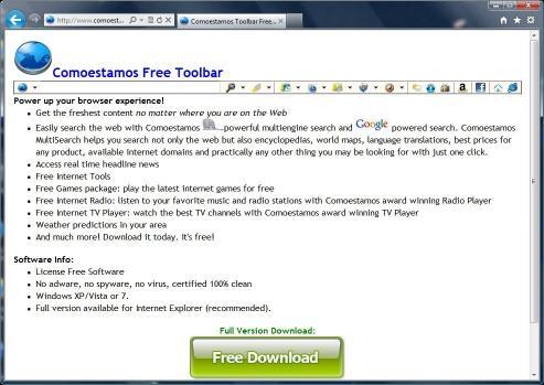 Download Comoestamos Toolbar