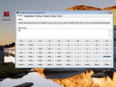 Download Compact Scientific Calculator 54