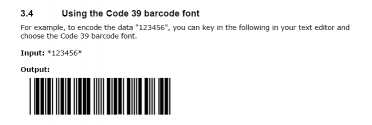 ConnectCode Free Barcode Fonts for Mac