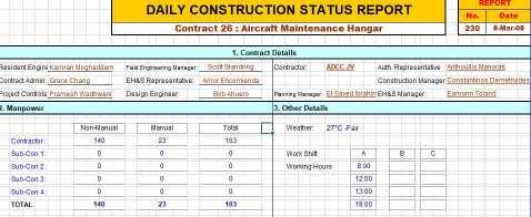 Construction Expense Budget SOftware