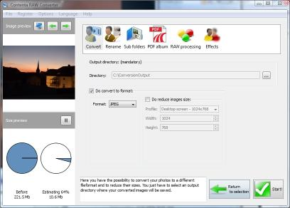Download Contenta RAW Converter