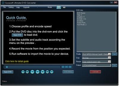 Download Convert DVDs to any Audio/Video Software