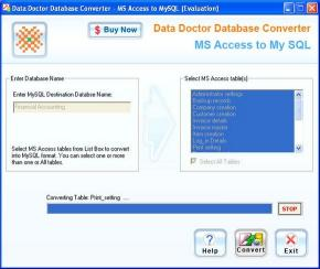 Download Convert MS Access To MySql Database