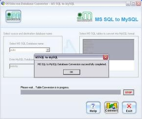 Download Convert MSSQL to MySQL Database
