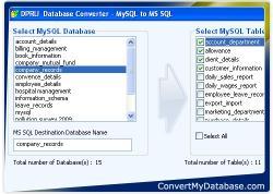 Download Convert MySQL Database To MSSQL