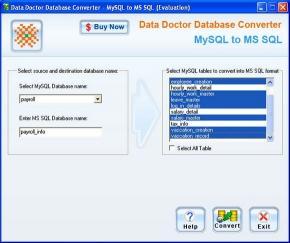 Download Convert MySQL to MSSQL Database
