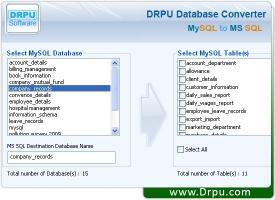 Download Convert MySQL To MSSQL DB