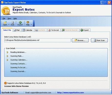 Download Convert Notes to Outlook