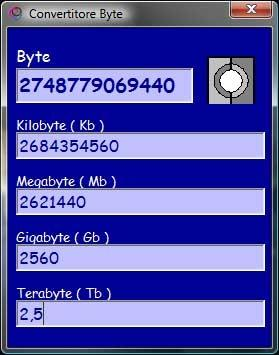 Download Convertitore Byte