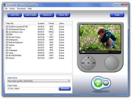 Download ConvexSoft Video to iPod Converter