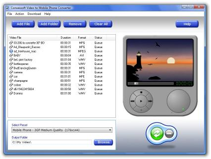 Download ConvexSoft Video to Mobile Phone Convert