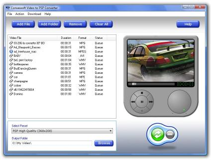 Download ConvexSoft Video to PSP Converter