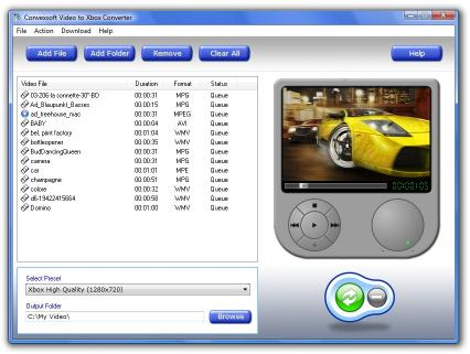 Download ConvexSoft Video to Xbox Converter