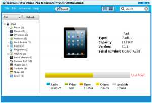 Coolmuster iPad iPhone iPod Transfer