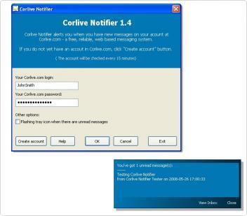 Download Corlive Notifier