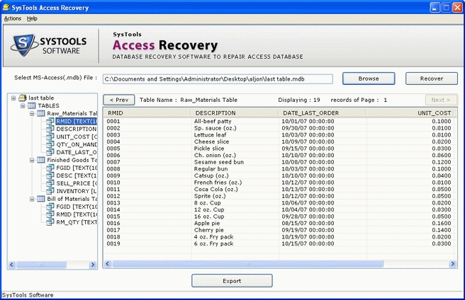 Password recovery for access download | password recovery for access.