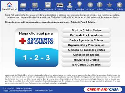 Credit-Aid CASA Software Reparacion Credito