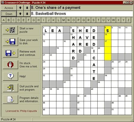 Download Crossword Challenge