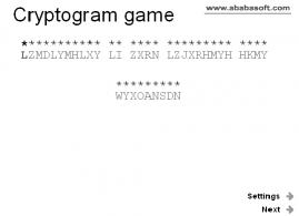 Download Cryptogram puzzle