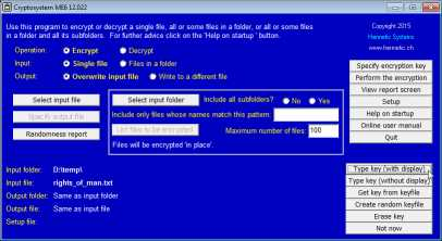 Download Cryptosystem ME6
