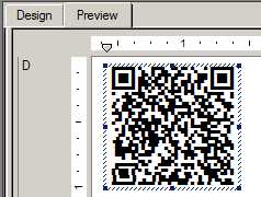 Crystal Reports 2D Barcode Generator
