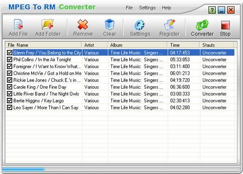 Download CrystalSoft MPEG To RM Converter